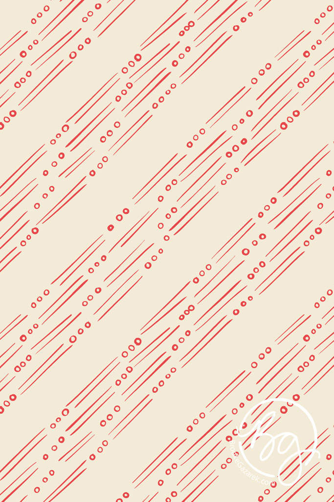 fields red diagonal stripes repeat pattern